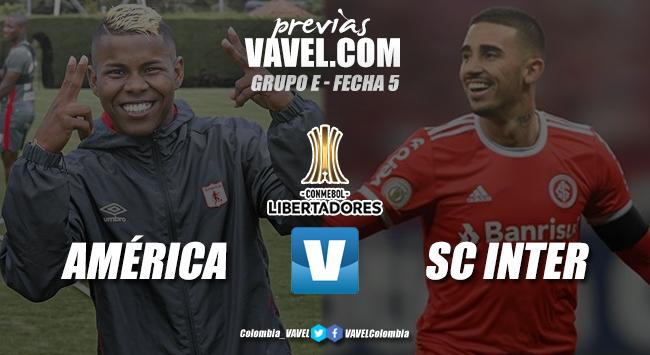 Previa América de Cali vs SC Internacional: los 'diablos rojos' se juegan la posibilidad de clasificar