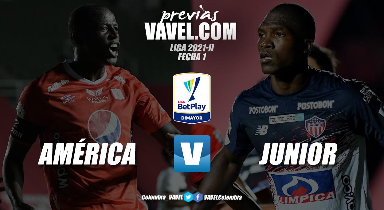 Previa América de Cali vs Junior de Barranquilla: inicia la liga para los internacionales