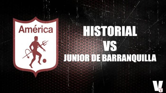 Historial Junior vs América: superioridad 'escarlata' frentea los ´tiburones'
