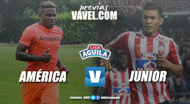 Previa América de Cali vs Junior de Barranquilla: el 'tiburón' quiere apagar 'la mechita'
