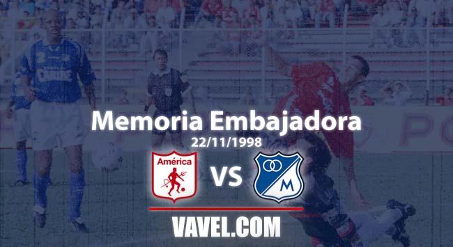 Memoria embajadora: Millonarios y un inicio triunfante en el cuadrangular B con Jorge Luis Pinto
