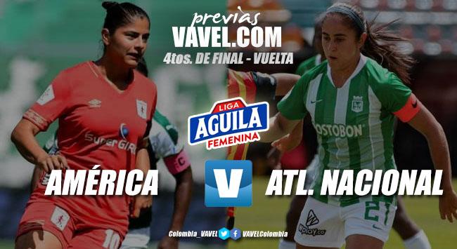 Previa América vs. Nacional: el último encuentro para definir a las semifinalistas