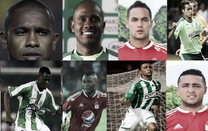 De rojo a verde, cinco jugadores viven su clásico aparte