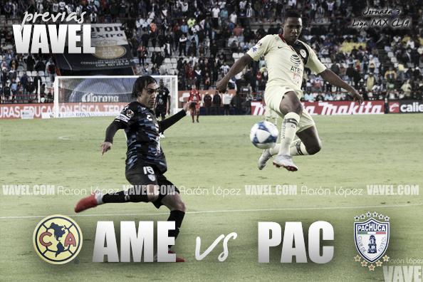 Previa América - Pachuca: el campeón debuta en casa