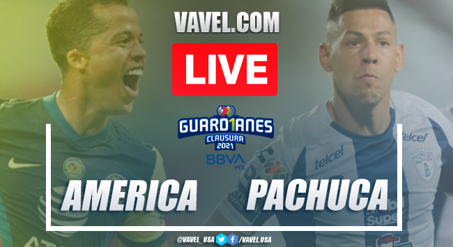 Goals and Highlights of America 2-0 Pachuca on Liga MX 2021