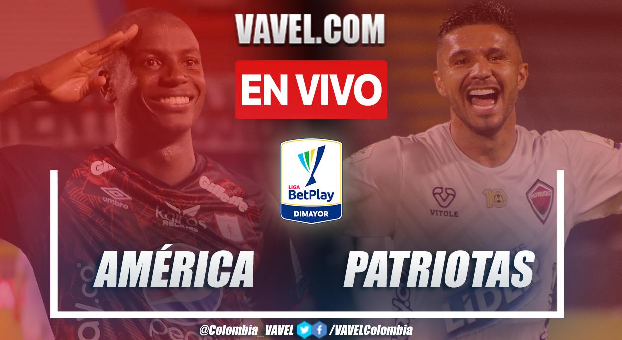 Resumen América 0-0 Patriotas en la fecha 6 por Liga BetPlay 2021-II