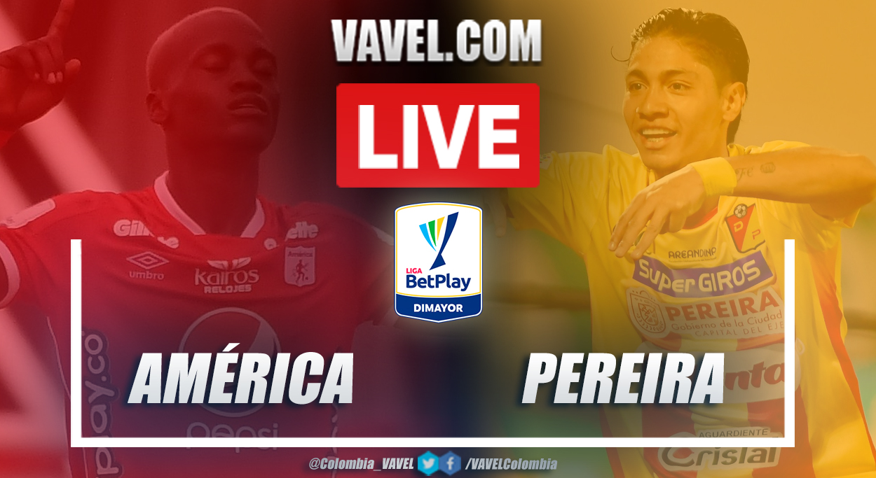 Resumen América vs Pereira (1-0) en la fecha 11 por Liga BetPlay 2021-I