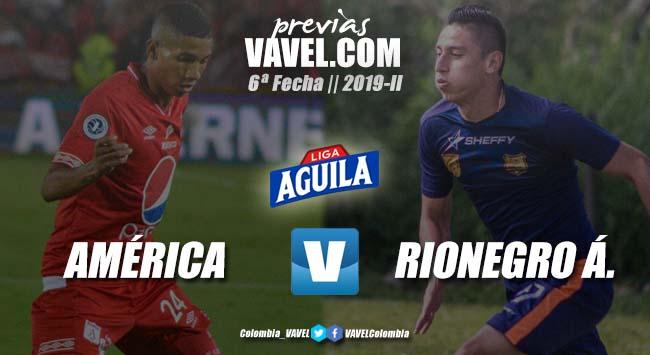 Previa América vs. Rionegro Águilas: dos equipos que buscan la recuperación