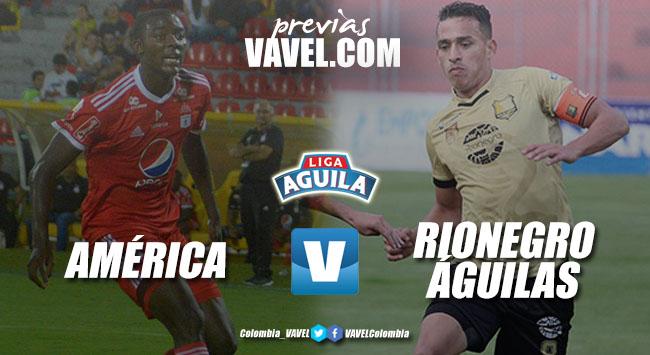 Previa América de Cali vs Rionegro Águilas: dos equipos que quieren regresar al triunfo