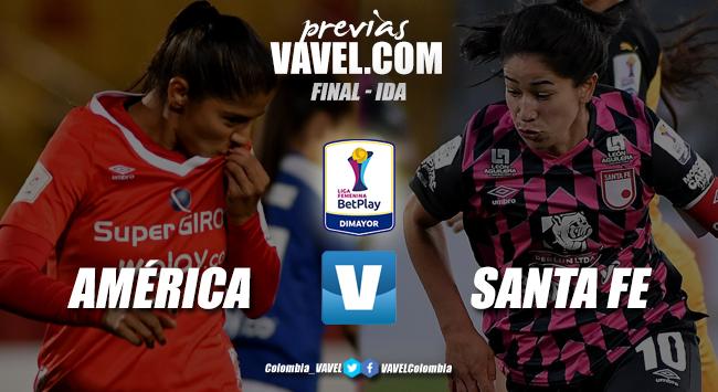 Previa América de Cali vs Independiente Santa Fe: primer choque de rojas en la final