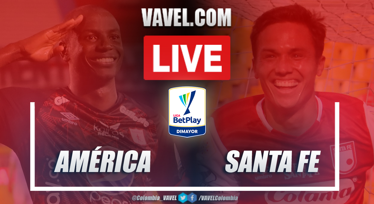 Resumen América vs Santa Fe (0-0) en la fecha 7 por Liga BetPlay 2021-I