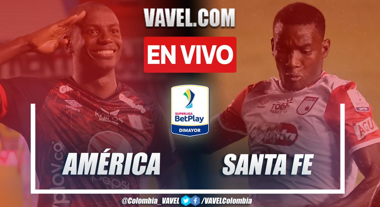 Resumen y goles: América 1-2 Santa Fe en final (ida) por Superliga BetPlay 2021