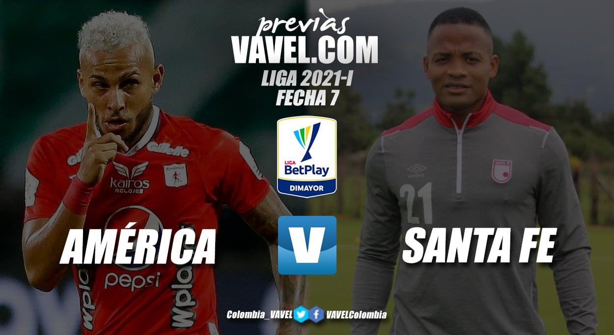 Previa América de Cali vs. Independiente Santa Fe: reencuentro de finalistas