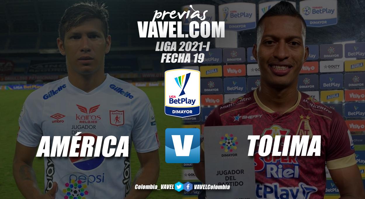 Previa América de Cali vs Deportes Tolima: en juego ser cabeza de serie y una clasificación