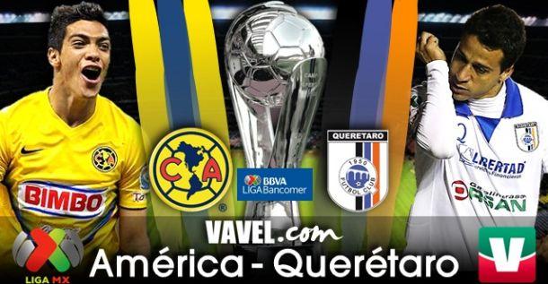 Resultado América - Querétaro en Liga MX 2014 (0-0)