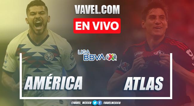 Goles y Resumen: América 2-0 Atlas en Liga MX 2020