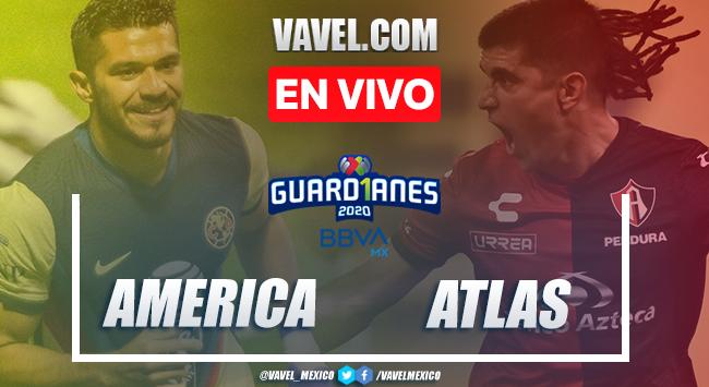 Gol y resumen: América 1-0 Atlas en Liga MX 2020