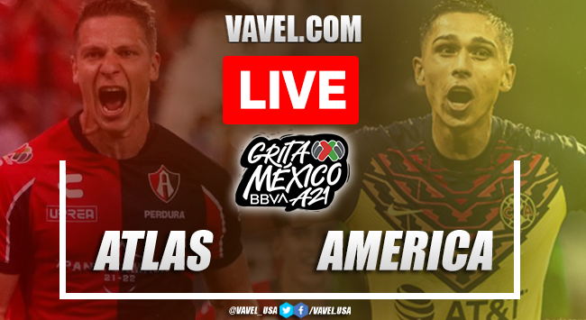 Goal and Highlights: Atlas 0-1 America in Liga MX