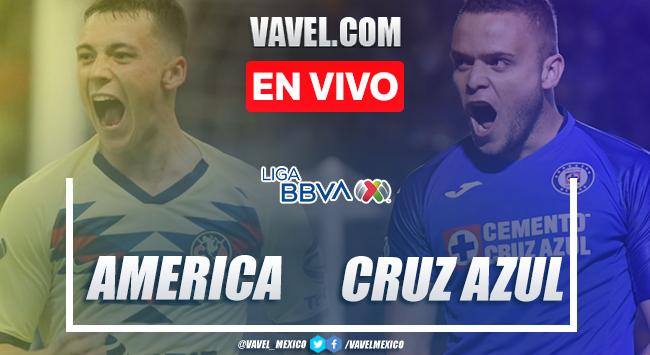 Resumen y gol: América 0-1 Cruz Azul en Liga MX 2020