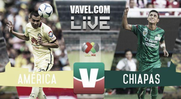 Resultado América - Jaguares Chiapas en Liga MX 2015 (2-1)