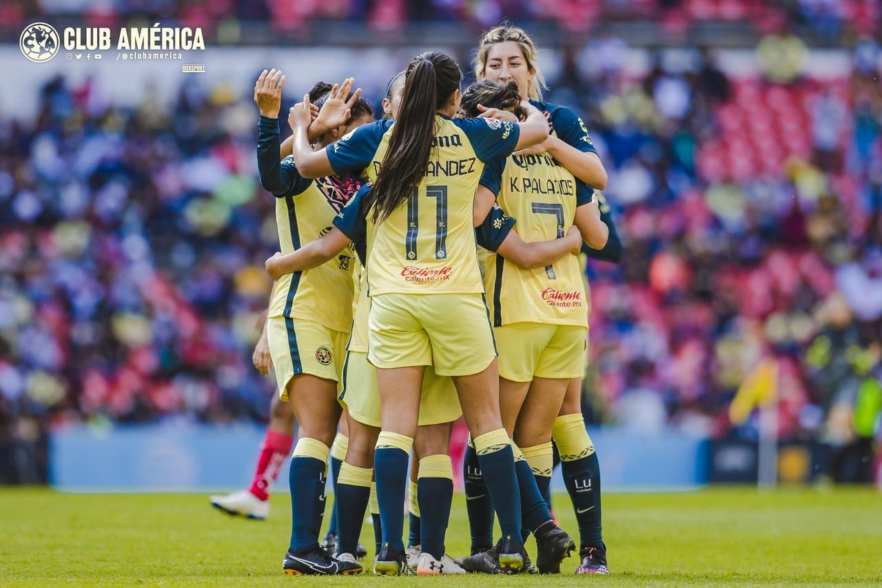 Las Águilas mantienen el vuelo en la Liga MX Femenil