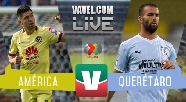 Resultado América - Querétaro en Liga MX 2015 (0-1)