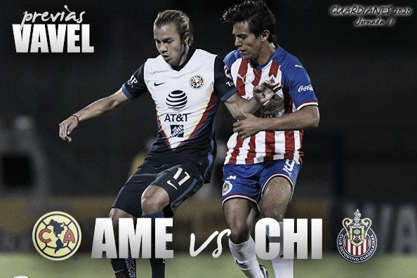 Previa América vs Chivas: el juego del orgullo