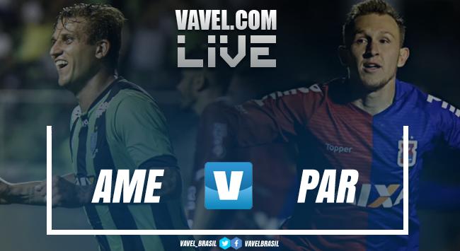 Resultado América-MG x Paraná pelo Brasileirao (0-1)