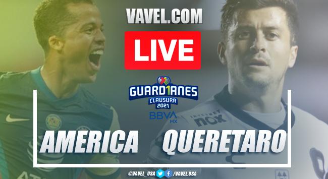 Goals and Highlights: America 2-1 Queretaro on Liga MX 2021