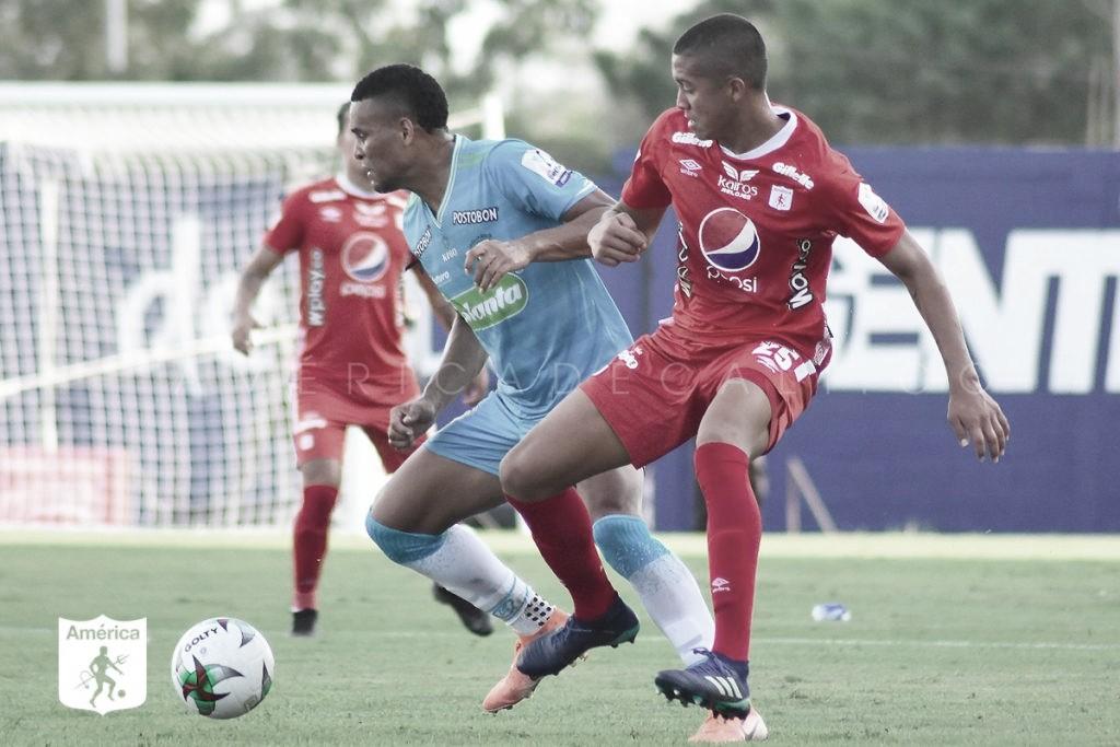 Agónico empate de América en Jaraguay