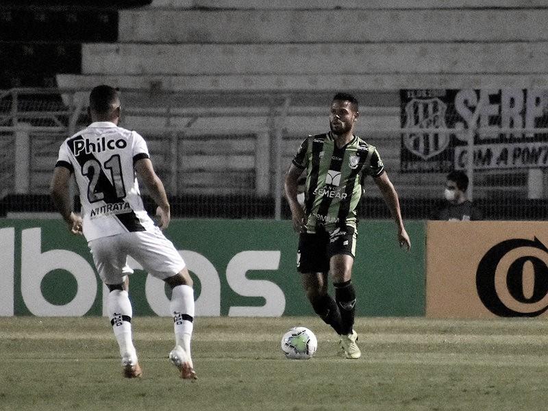 Pela Copa do Brasil, América-MG arranca empate fora de casa contra Ponte Preta