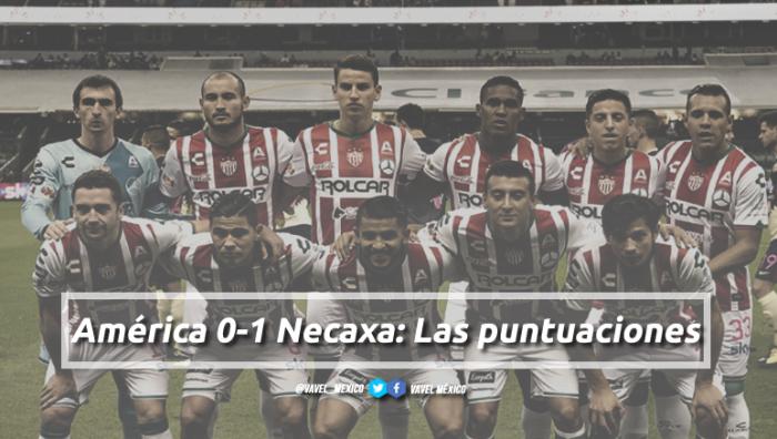 América 0-1 Necaxa: puntuaciones de Necaxa en la jornada 14 de la Liga MX Apertura 2017