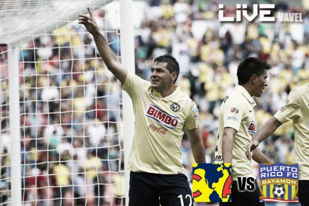Resultado América - Bayamón en Concachampions 2014 (6-1)