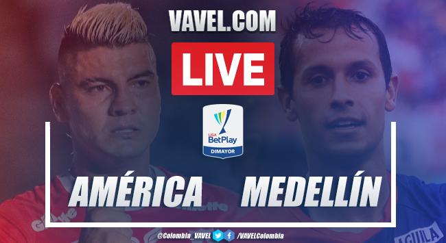 Resumen y goles: América de Cali 2-0 Independiente Medellín en Liga BetPlay 2020-I