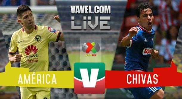 Resultado América - Chivas en la Liga MX 2015 (1-2)