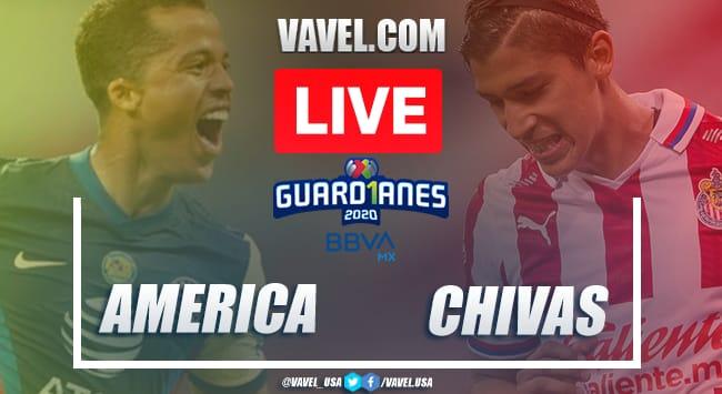 América vs Chivas Live Score, Stream Updates and How to Watch Playoffs Liga MX