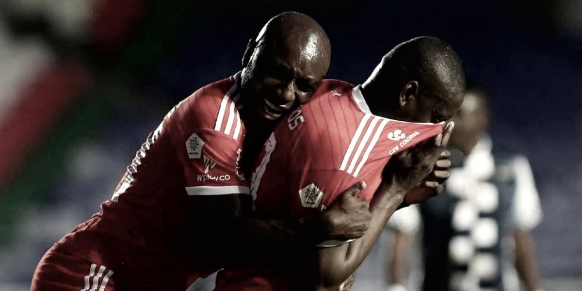 América venció a Boyacá Chicó y logra respirar en la Liga Águila