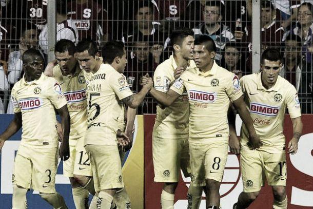 Resultado Herediano - América en Concachampions 2015 (3-0)