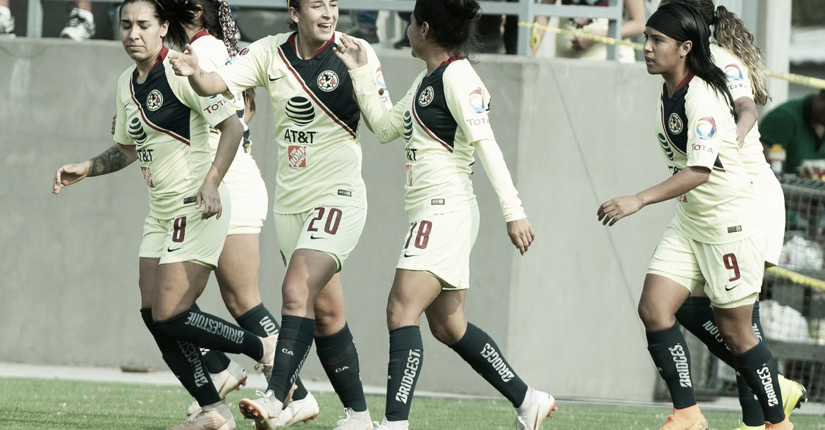América Femenil sigue imparable