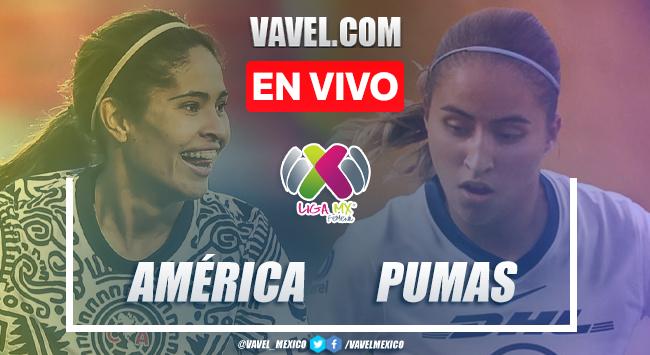 Resumen y goles: América 3-1 Pumas en Liga MX Femenil Guard1anes 2021