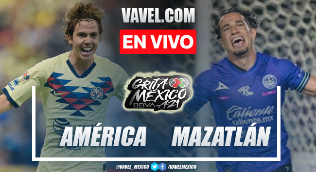 Goles y resumen del América 2-0 Mazatlán en Liga MX 2021