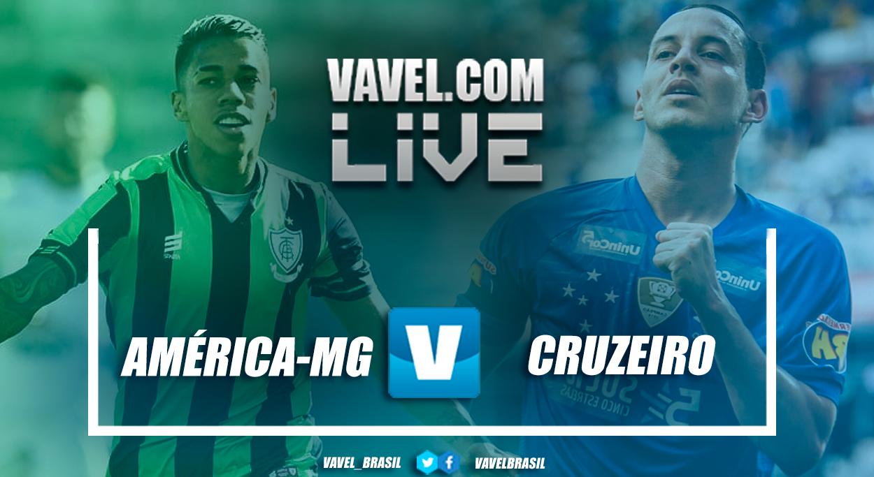 América-MG x Cruzeiro AO VIVO agora (0-0)