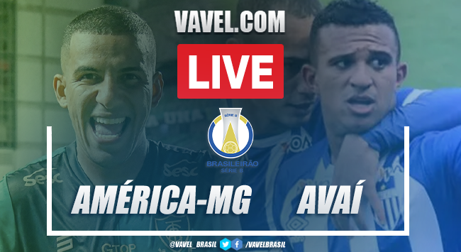 Gols e melhores momentos de América-MG 2x1 Avaí pelo Brasileirão Série B