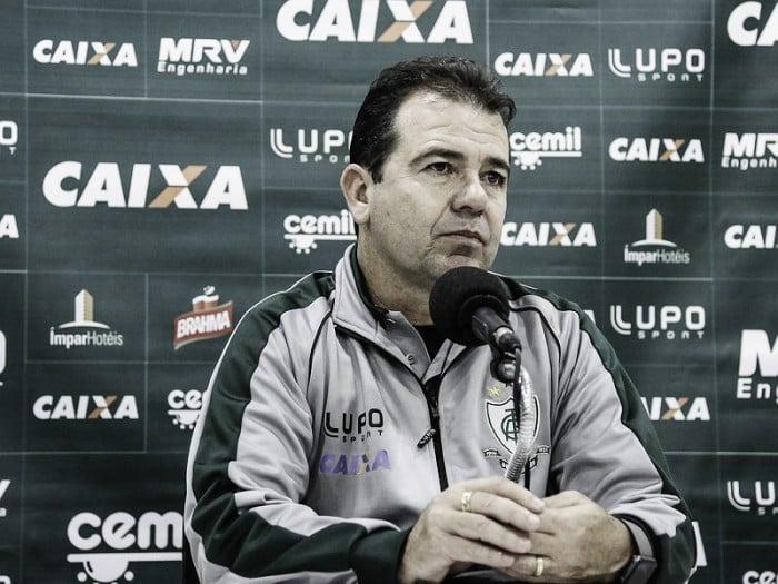 """Enderson Moreira exalta vitória do América-MG em Natal: """"Fizemos bom resultado fora de casa"""""""