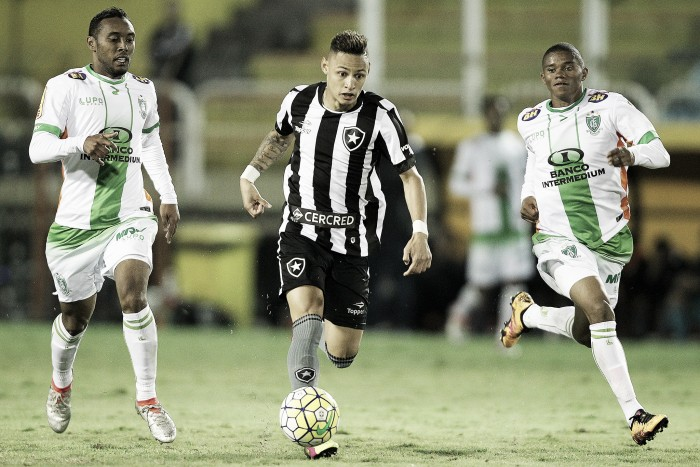 Botafogo encara América-MG fora de casa para se aproximar do G-4