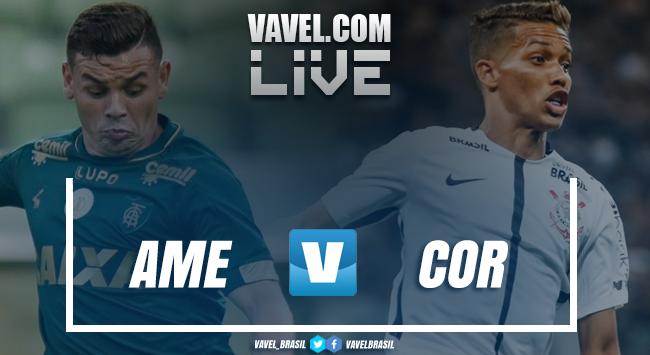 Resultado América-MG x Corinthians no Campeonato Brasileiro (0-0)