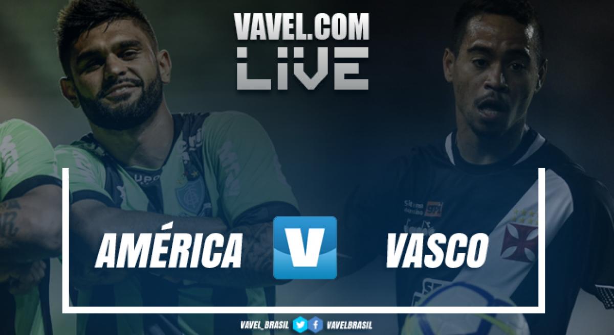 Resultado América-MG x Vasco da Gama AO VIVO online pelo Campeonato Brasileiro 2018
