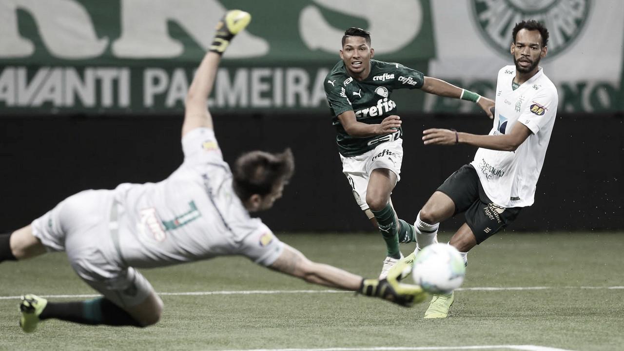 """Com a volta de Rony, Palmeiras visita """"azarão"""" América-MG na luta por final da Copa do Brasil"""