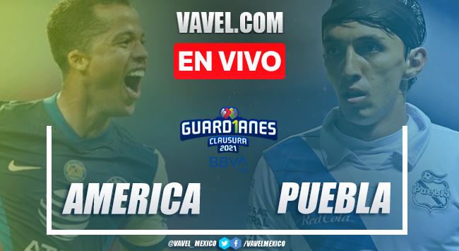 Gol y resumen del América 1-0 Puebla en Liga MX 2021