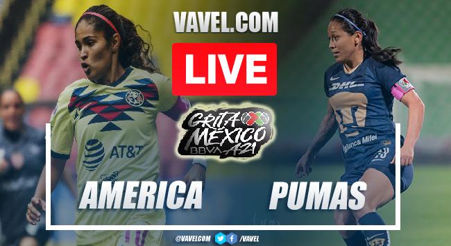 Goals and Highlights: America Femenil 2-2 Pumas Femenil in Liga MX Femenil 2021
